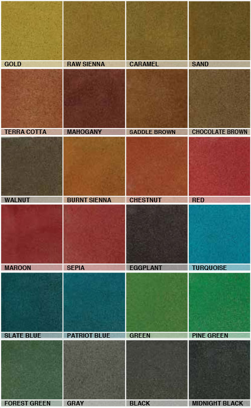 Ameripolish Surelock Color Chart